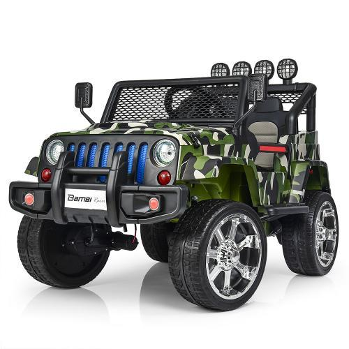 Электромобиль детский Джип M 3237EBLR-18 камуфляж