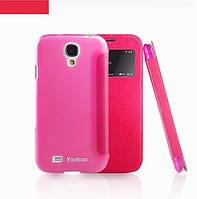 Чехол-флип для телефона Yoobao Slim II Leather case for Samsung i9500 Galaxy S IV, rose (LCSAMS4-SRS-II)