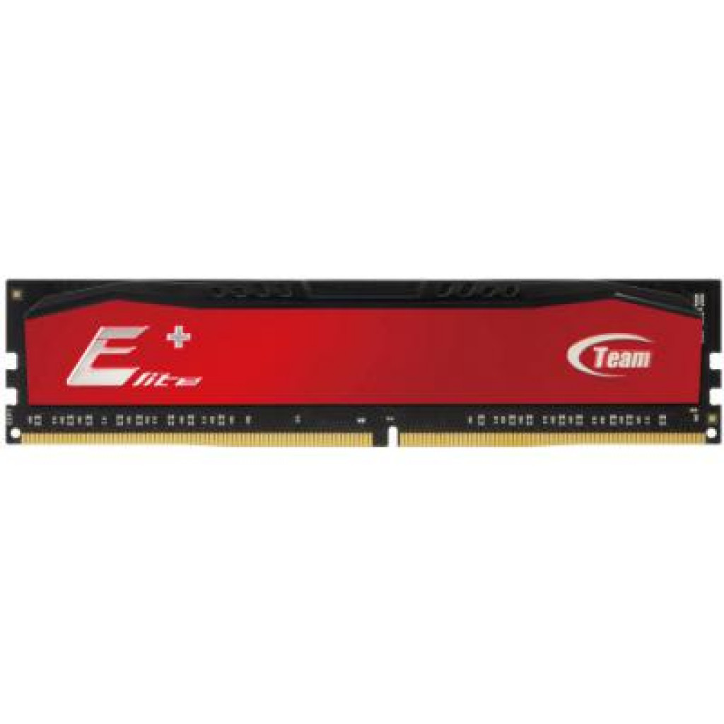 Модуль памяти для компьютера DDR3 4GB 1600 MHz Elite Plus Red Team (TPRD34G1600HC1101)
