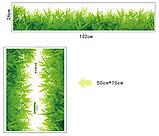 Декоративна наклейка зелена трава (132х26см), фото 3