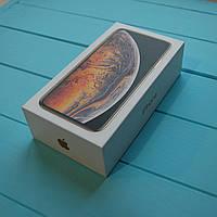 Коробка Apple iPhone XS Max Gold
