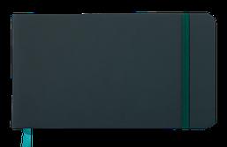 Еженедельник карманный датированный в линию Buromax 2020 Touch Me, 136 страниц, зелёный