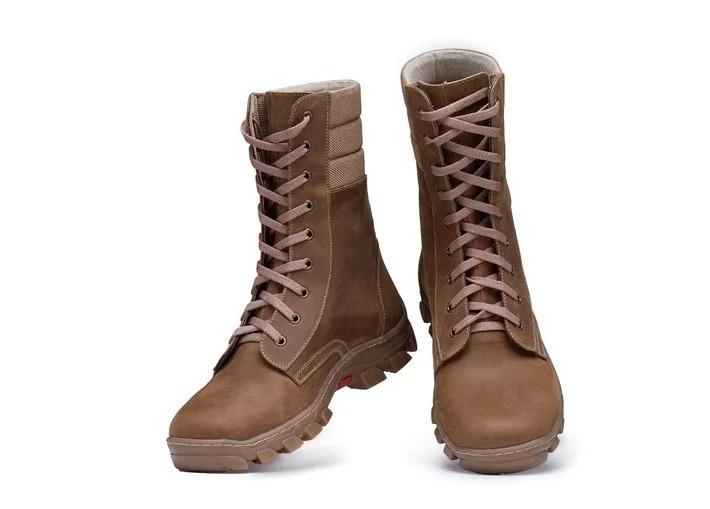 Мужские зимние кожаные ботинки в стиле Arctic Winter Arena