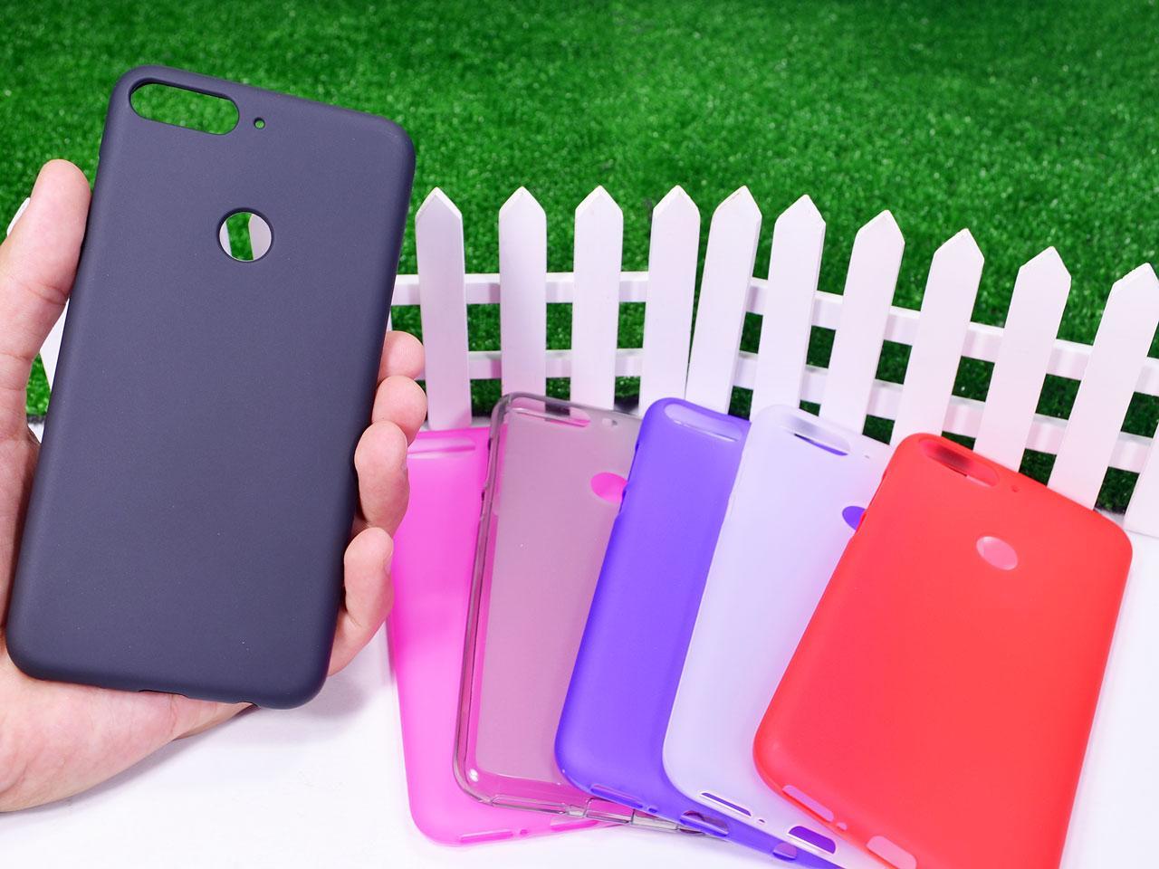 Силиконовый TPU чехол для Huawei Honor 7C (LND-AL30, LND-AL40) / Honor 7C Pro (LND-L29) / Enjoy 8