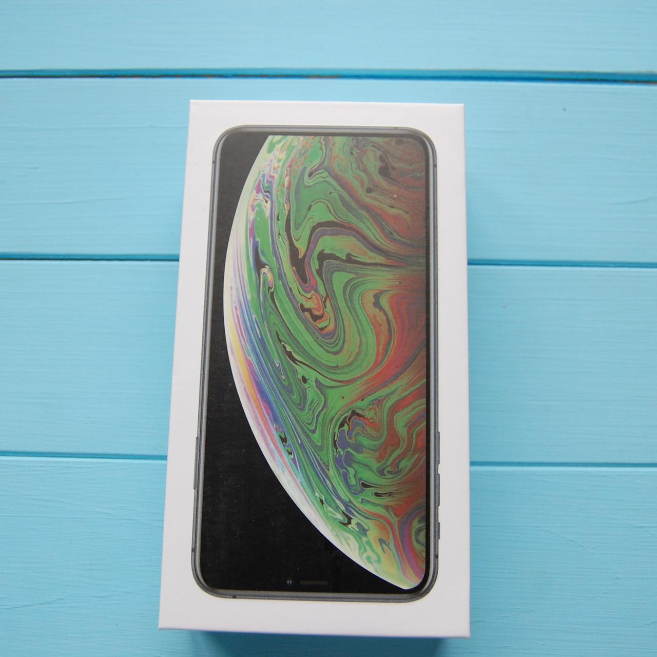 Коробка Apple iPhone XS Max Space Gray