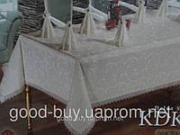 """Скатерть Monolife Home Store """"Exclusive Table   160х220+8   pr-s34"""