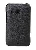 Кожаный чехол-накладка для телефона Melkco Snap leather cover for HTC Desire 200, black (O2DE20LOLT1BKLC)
