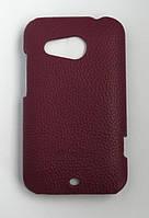 Кожаный чехол-накладка для телефона Melkco Snap leather cover for HTC Desire 200, purple (O2DE20LOLT1PELC)