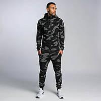 Чоловічий спортивний камуфляжний костюм двійка, фото 1
