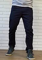 Хлопковые чиносы синего цвета, фото 1