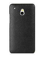 Кожаный чехол-накладка для телефона Melkco Snap leather cover for HTC One Mini, black (O2O2M4LOLT1BKLC)