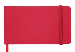Еженедельник карманный датированный в линию Buromax 2020 Touch Me, 136 страниц, красный