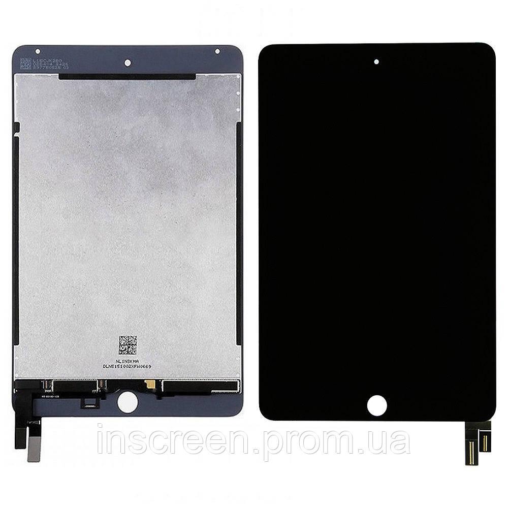 Дисплей Apple iPad mini 4 (A1538, A1550) з сенсором (тачскрін) чорний
