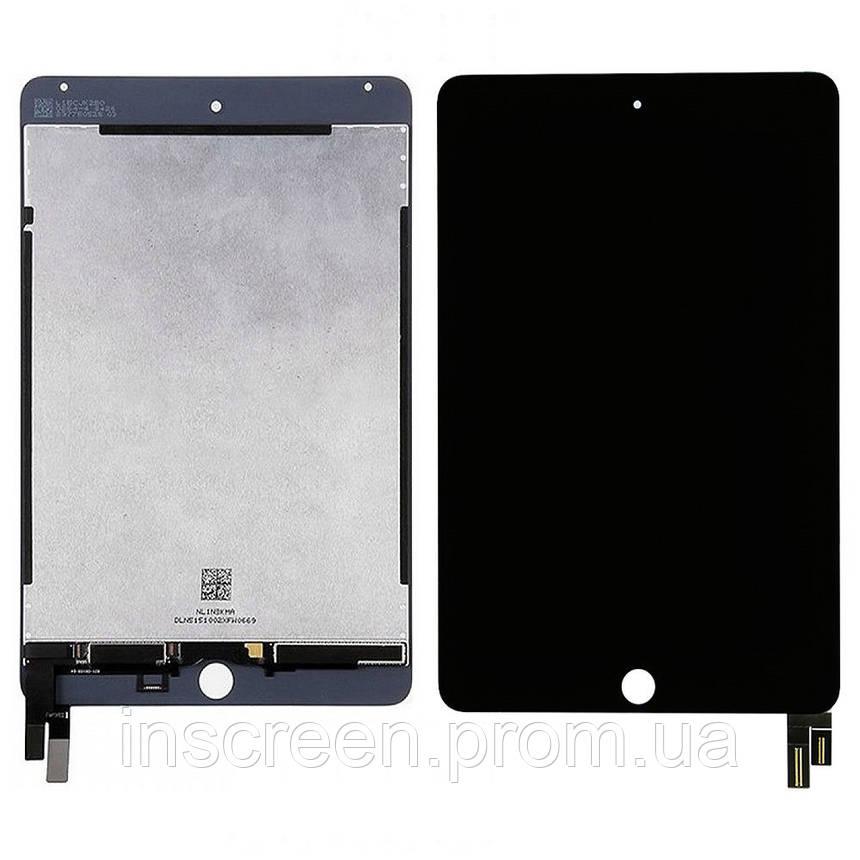 Дисплей Apple iPad mini 4 (A1538, A1550) з сенсором (тачскрін) чорний, фото 2