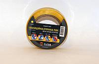 Изолента ПВХ 10м х 15мм х 0,13мм ELCOR желтая