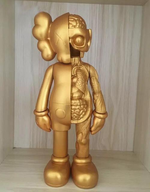 Фигурка Сумасшедший Золото Bearbrick 400 %