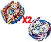 Набор волчков BEYBLADE (Бейблейд) Волчок Sieg Xcalibur VS Lost Longinus 3 сезон с пусковыми устройствами