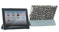 Чехол для планшета iPad 2/3/4 Nuoku ROYAL stylish leather case grey