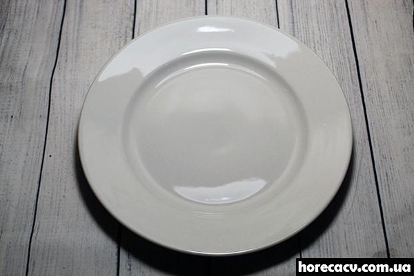 Тарелка фарфоровая HLS белая 17,3*2,2 см 175 мл (0910)