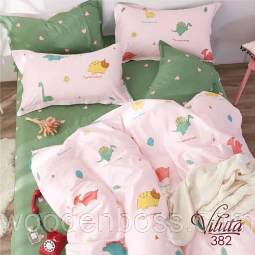 Детский комплект постельного белья 382 на резинке