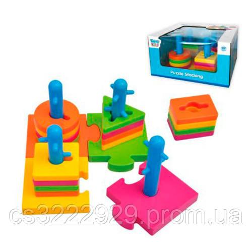 Увлекательная детская игра логика Пирамидка-ключ TY9075