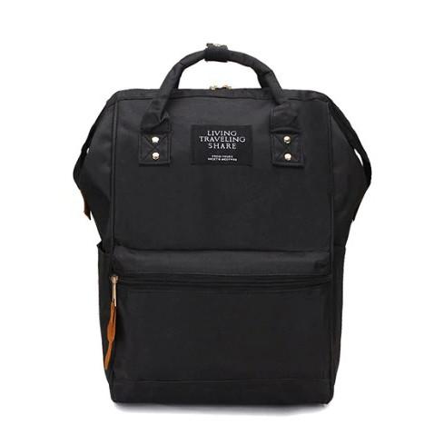 Рюкзак сумка стильний жіночий міський (чорний)