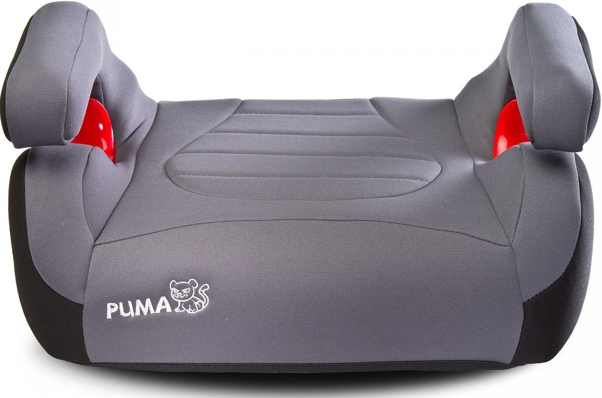 Автокресло-бустер Caretero PUMA ISOFIX ( серое )