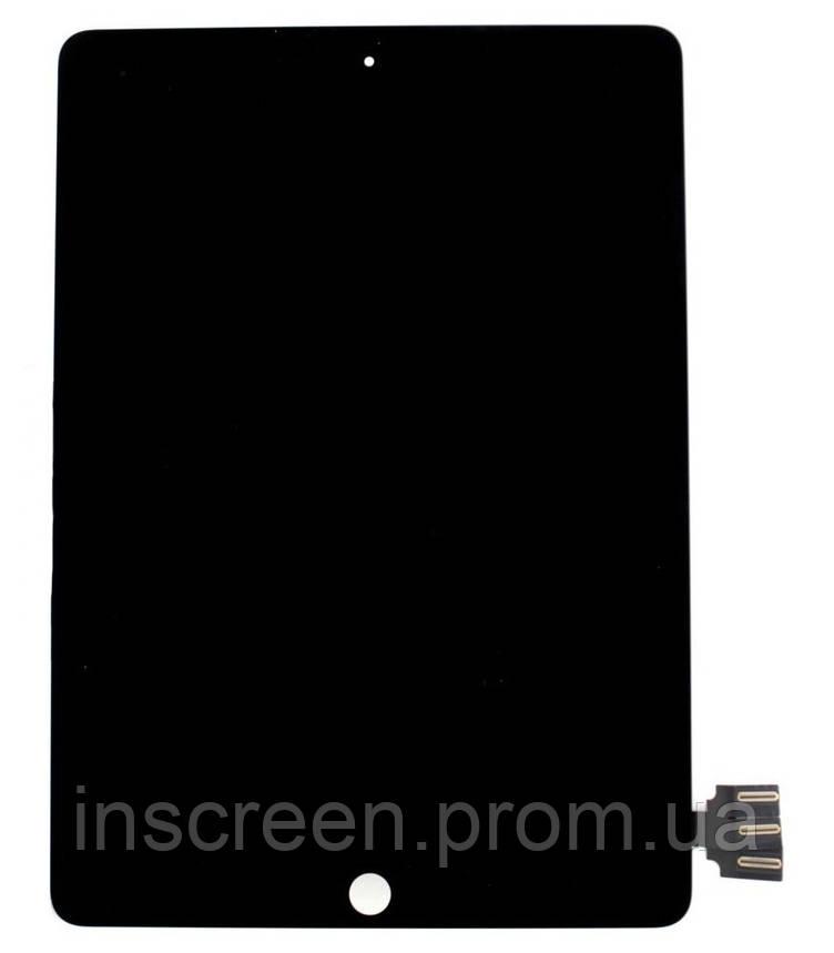 Экран (дисплей) Apple iPad Pro 9.7 (A1673, A1674, A1675) с тачскрином (сенсором) черный, фото 2