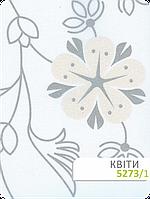 Цветы на ткани для штор
