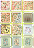 Книга. Таблиці Рабкіна Е. Б. Поліхроматичні таблиці для дослідження кольоровідчуття, фото 4