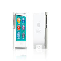 Пластиковый чехол-накладка Tunewear Eggshell cover case for iPod Nano 7G, clear white (NN7-EGG-SHELL-01)
