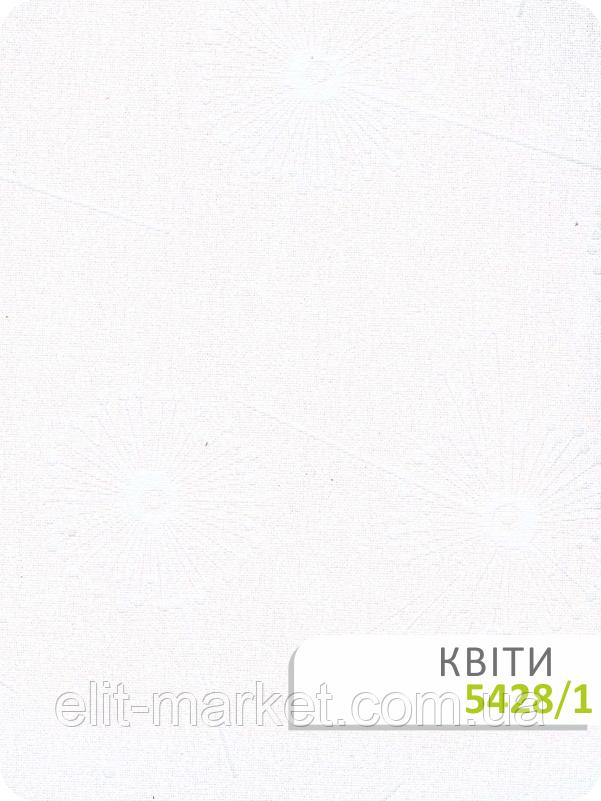 Ткань для рулонных штор Квіти 5428/1