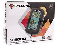 Автомобильная двухсторонняя сигнализация на авто с диалоговым кодом CYCLON X-500D