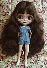 Комбинезон джинсовый для куклы Блайз, Айси, фото 2
