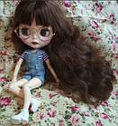 Комбинезон джинсовый для куклы Блайз, Айси, фото 3