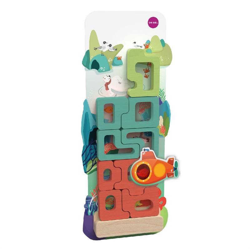 Oribel - Настенная игрушка Veritiplay Пазл Загадочный аквариум