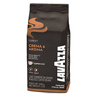 Оригинал. Зерновое кофе 1 кг Lavazza Crema & Aroma Vending код KL1005