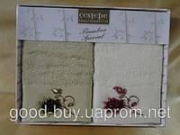 Комплект кухонных полотенец из бамбука Cestepe 2шт: 50х30 Tурция