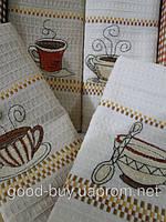 Набор вафельных кухонных полотенец Mercan 4шт. 100% cotton Турция