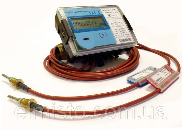Ультразвуковой теплосчетчик QALCO (SKS-3) QalcoSonic Heat 1 DN 15 Qp 0,6 L 110mm компактный бытовой