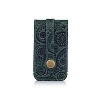 """Оригінальна ключниця з натуральної матової шкіри, колекція """"Buta Art"""", фото 1"""