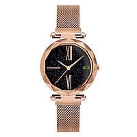Стильные женские часы Starry Sky Watch. Золото. Скай воч.