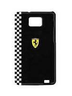 Пластиковый чехол-накладка для телефона Samsung i9105/i9100 Galaxy S II Plus Ferrari Formula 1 back cover, black (FEFOG2B)