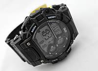 Часы Q@Q  Prime 10Bar можно плавать и нырять, черные, фото 1