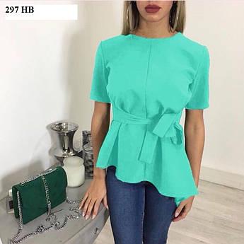 Блуза жіноча з коротким рукавом 297 НВ