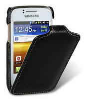 Чехол-книжка для телефона Melkco Jacka leather case for Samsung S6102 Galaxy Y DuoS, black (SS6102LCJT1BKLC)