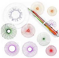 Набор для творчества SUNROZ Spiral Free Style детский спирограф, фото 1