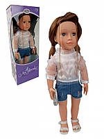 Интерактивная Кукла Тина M 3924 UA 48см