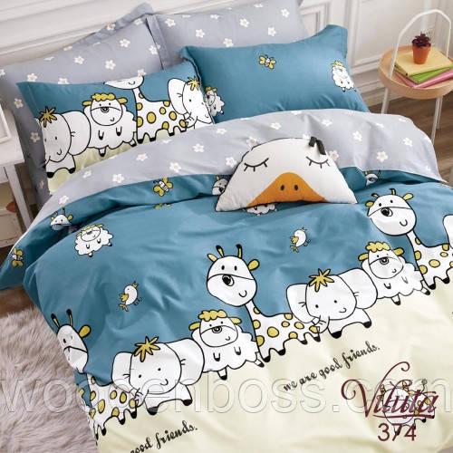 Подростковый комплект постельного белья 374