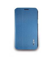 Чехол-книжка для телефона NavJack Corium series case for Samsung N7100 Galaxy Note II, ceil blue (J016-19)